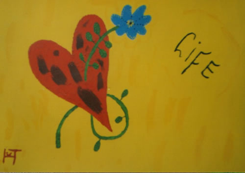Picture of the painting: 'Life - Happy feeling!'