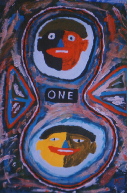 Picture of the painting: 'One - Unity!'