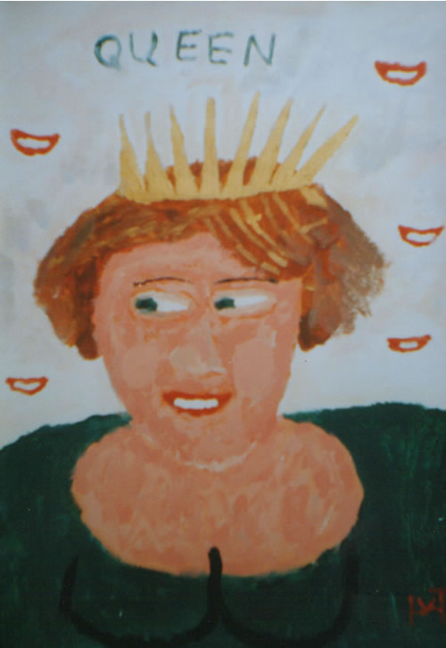 Picture of the painting: 'Queen - The Dutch Queen Beatrix!'