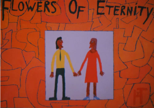 Picture of the painting: 'Flowers of Eternity - A dream couple.'
