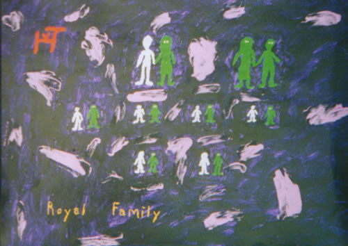Picture of the painting: 'Royal Family - Their offspring.'