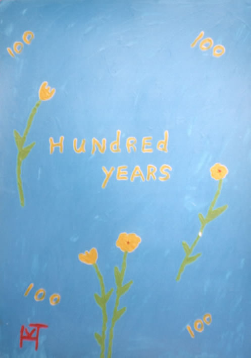 Picture of the painting: 'Hundred Years - After hundred years!'