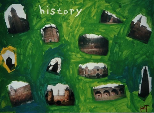 Picture of the painting: 'History - Historical Amersfoort in Holland!'