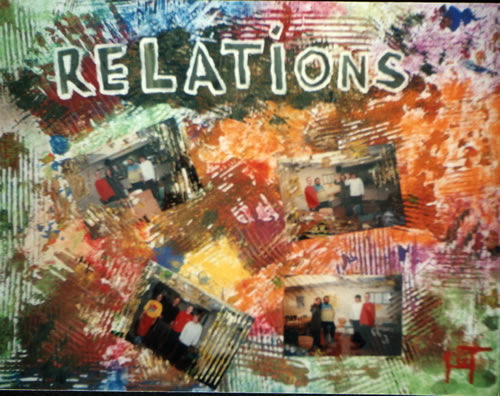 Picture of the painting: 'Relations - A few relations.'