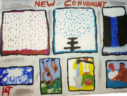 Picture of the painting: 'New Convenant - Baptism'