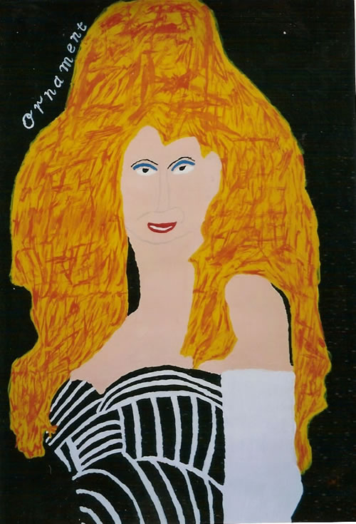 Picture of the painting: 'Ornament - Dolly Parton!'