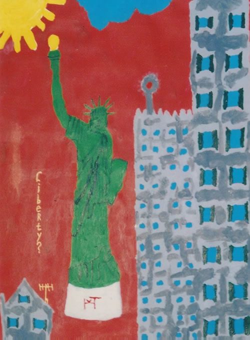 Picture of the painting: 'Liberty? - Statue of Liberty'