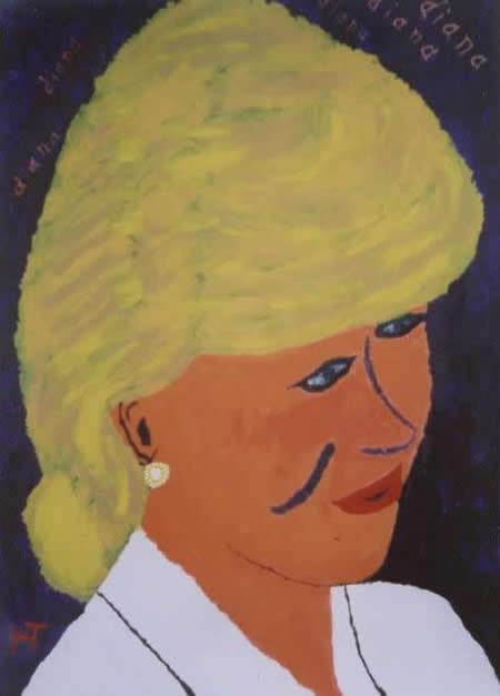 Picture of the painting: 'Diana - Princes Diana!'