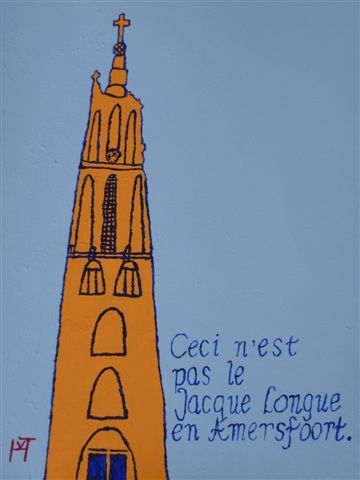 Picture of the painting: 'Long John - The Long John tower!'