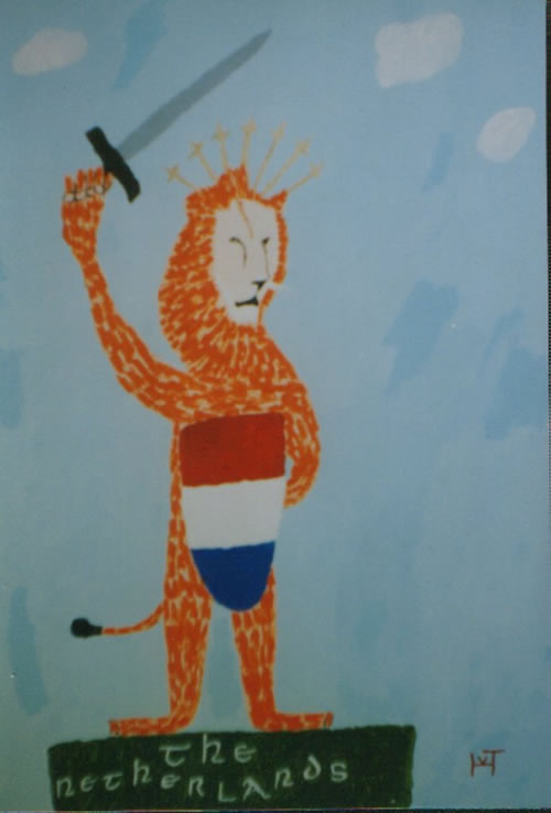 Picture of the painting: The Netherlands ; 'the Dutch Lion!'