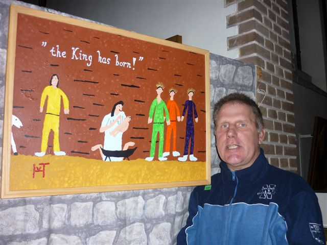 Picture of the painting: 'the King has born! - Christmas!'